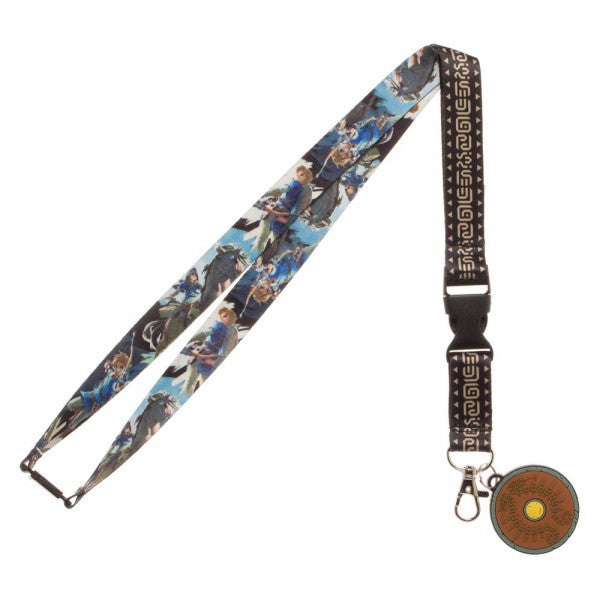Zelda Breath Of The Wild Lanyard