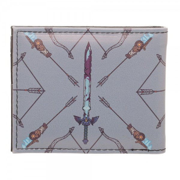 Zelda Breath of the Wild Sword & Arrow Bi-Fold Wallet