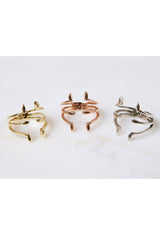 Triple Marquise Ring - Multiple Colors