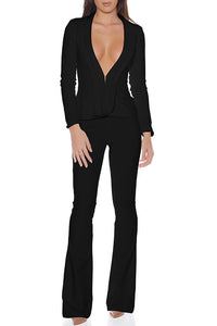 Blake Suit Top - Black