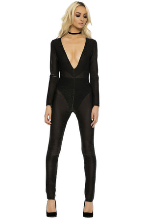 Limited Noir Bodysuit