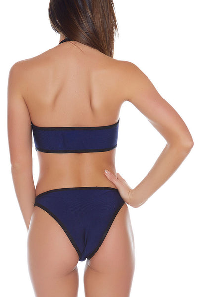 Janis Bandage One-Piece - Navy