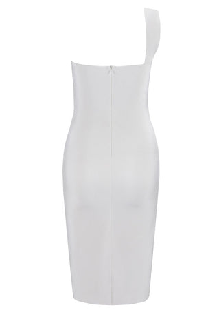 Sisi Bandage Dress- White