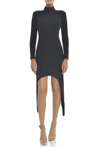 Lauren Bandage Dress- Black