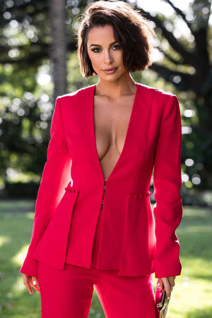Bambi 2 Piece Suit -Red