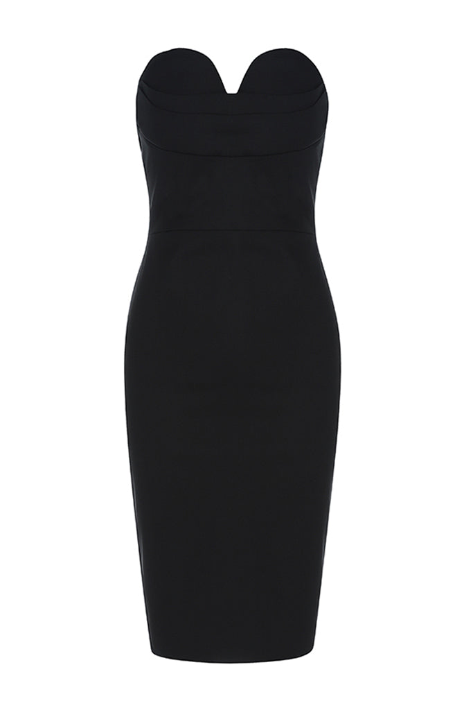 BH5934 Dress- Black