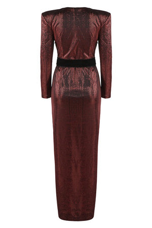 Emmy Evening Max - Burgundy