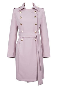 Misha Overcoat - Blush