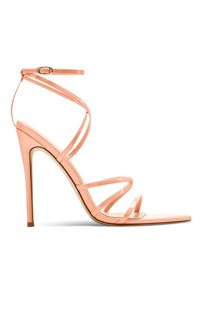 Stark Patent Heel - Just Peachy