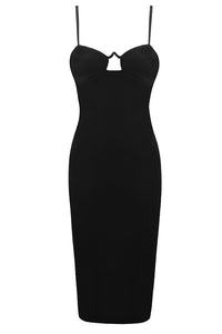 Jilly Bandage Dress-Black