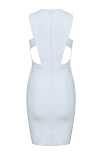 Beryl Bandage Dress - White