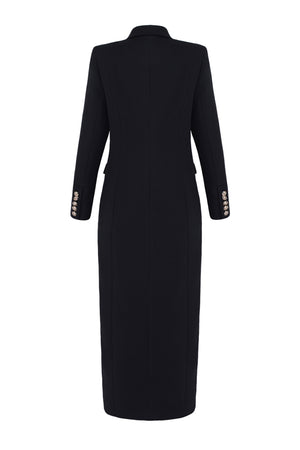 Georgina Blazer Dress -Black