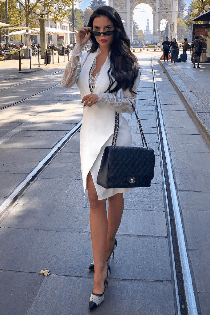 Cheyenne White Dress