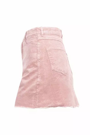 Corduroy Mini Skirt - Blush