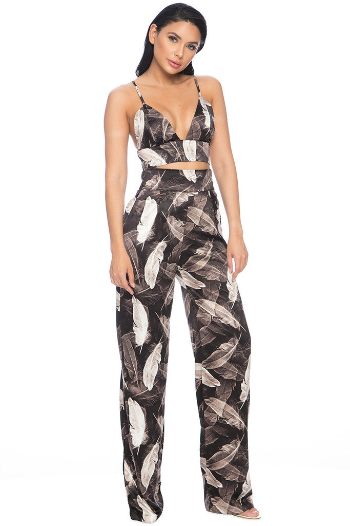 Limited Gabbana Pant Two - Piece