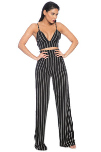 ESQ Pant Two-Piece - Black