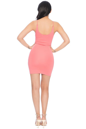 Wang Classic String Tank Dress - Pink