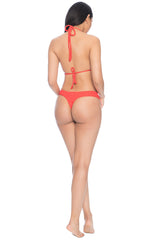Kaia Cheeky Bottoms - Red