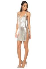 Hilton Metal Mesh Dress - 4 colors