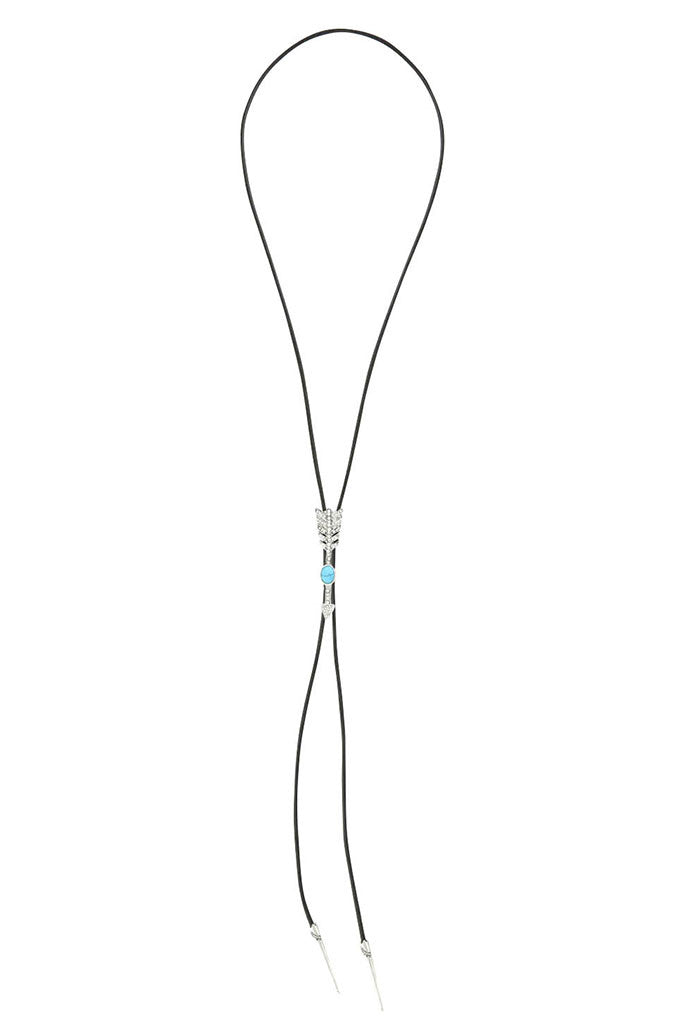 The Valley Silver Turquoise Bolo