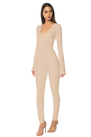 King Jumpsuit - Nude