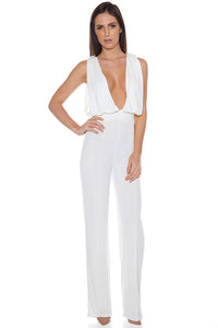 Parisienne Jumpsuit - White