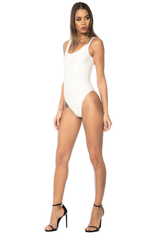 Lila Bodysuit - White