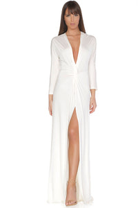 Penelope Evening Gown - Off White