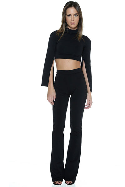 Lennon Pant Suit - Black