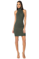 Keri Sleeveless Sweater Dress - Mint