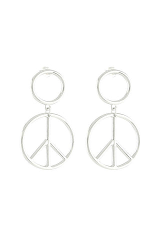 Young Love Earrings - Silver