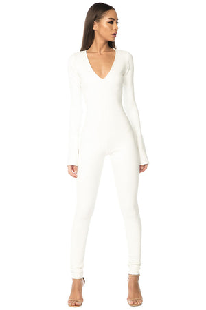 King Jumpsuit - White