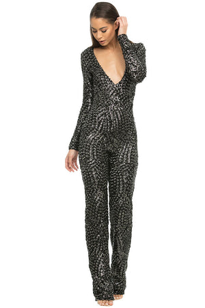 Bella Luxe Sequence Jumpsuit