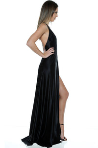 Olivia Evening Gown - Black