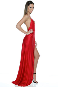 Olivia Evening Gown - Red