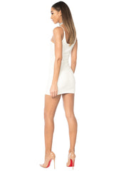 Wang Classic String Tank Dress - Ivory