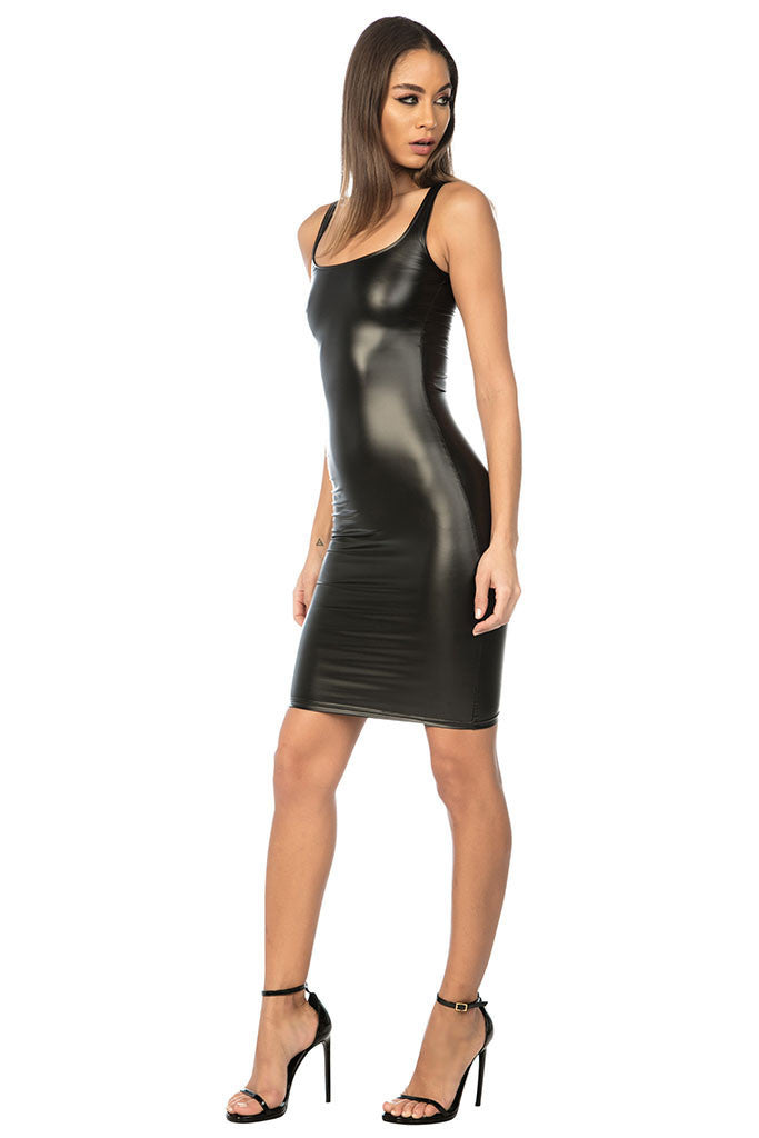 Azuku Vegan Leather Dress