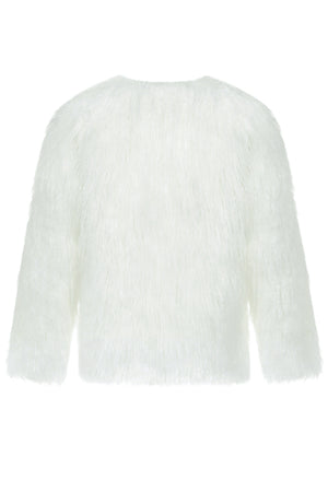 Zia Short Warm Fur Coat