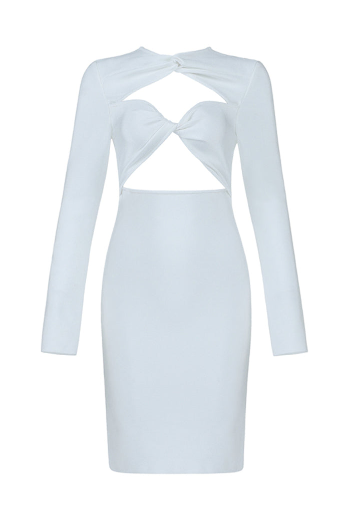 Celine White Bandage Dress