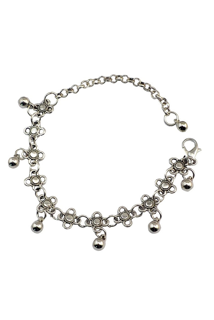 Akina Anklet - Silver
