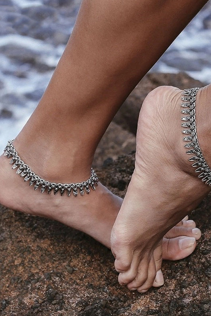 Aria Anklet - Silver