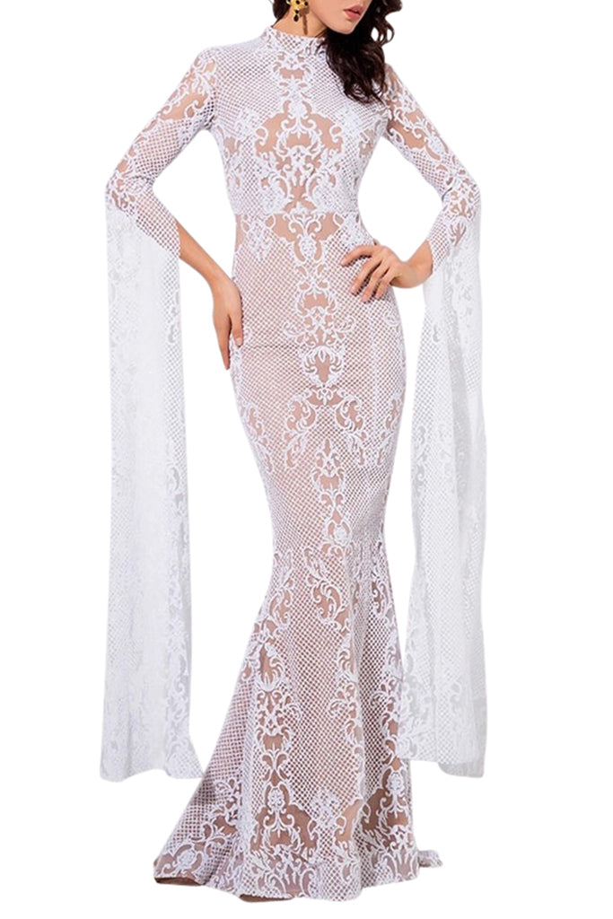 Le Ange Gown - White
