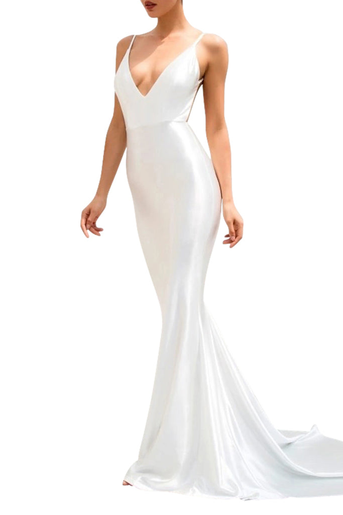 Envy Gown - White