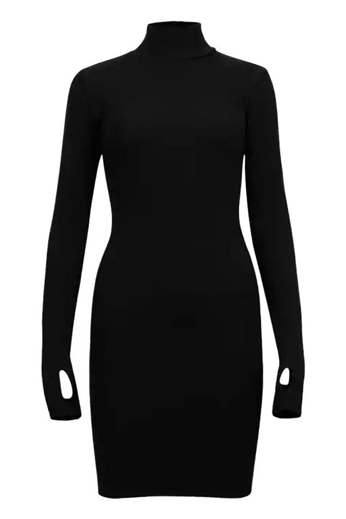 Sainted Body Dress - Black