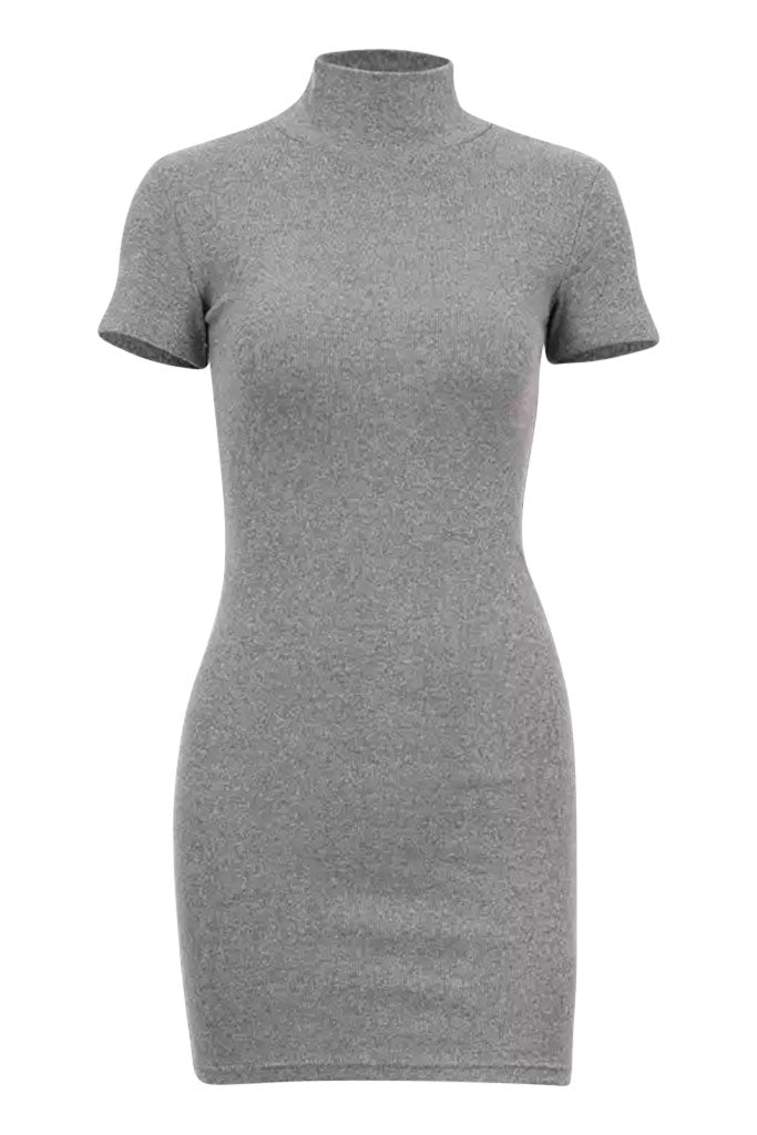 Mini Tee Ye Dress - Gray