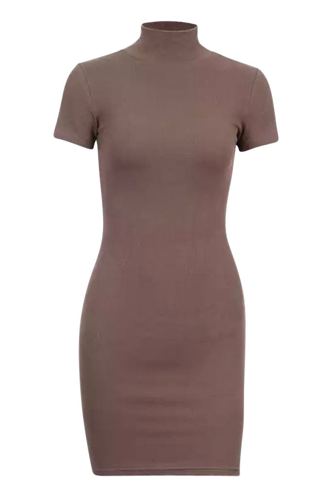 Mini Tee Ye Dress - Taupe