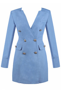 Tiffany Dress - Sky Blue