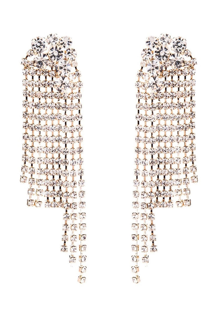 S50 Crystal Earring - Gold