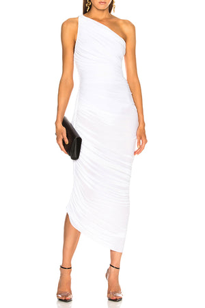 Natx Ruched Midi Dress