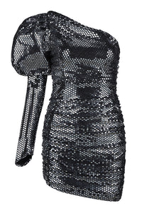 Bella Metallic Dress